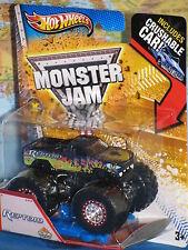 HOT WHEELS MONSTER JAM REPTOID CRUSHABLE CAR BRAND NEW & RARE