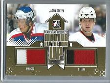 Jason Spezza 11/12 ITG Heroes and Prospects Game Used Jersey (Gold Version 1-10)