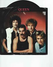 QUEEN    RADIO GA GA/I GO CRAZY   45RPM VINYL RECORD