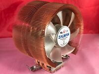 Zalman CNPS 9000 Quiet CPU Cooler 2- Ball Bearing ZF1125BTH w/ Fan & Heatsink