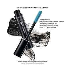 Avon SUPERSHOCK MASCARA ~ Nero ~ SUPER SHOCK Volumising Mascara SPEDIZIONE GRATUITA