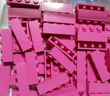 LEGO 10 Bricks Dark Pink 1 x 4