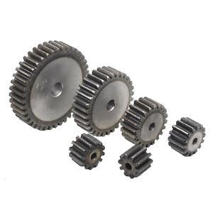 1.5Mod 12T~22T Precision Spur Pinion Gear #45 Steel Motor Gear 15mm Thickness