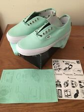 """Vans 2013 Authentic Pro """"S"""" Syndicate Mike Hill Mint Size 8.5 New"""