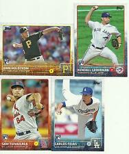 2015 Topps Lot of 4 Rookie Card  Frias,Graveman, Holdzkom,Tuivailala. Mint!