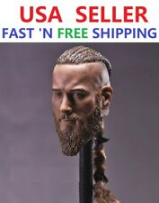 "1/6 Viking Captain Head Sculpt For For 12"" Headplay Hot Toys Male Figure"