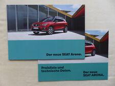 Seat Arona FR - Prospekt Brochure + Preisliste 08.2017