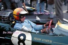 Mike Spence Lotus 25 Dutch Grand Prix 1965 PHOTO