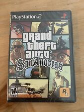 Grand Theft Auto San Andreas Sony PlayStation 2 Ps2 New Sealed Trilogy Version