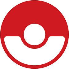 """Pokemon Go Pokeball Logo 8"""" Decal Sticker valor mystic instinct nerdy funny"""