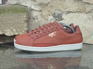 PUMA Match UK7.5 / US8.5 Red White Retro Vintage Rare Tennis Sneakers