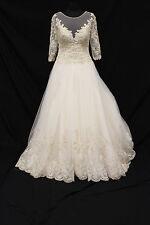 Sophia Tolli Andria Wedding Gown Bridal Dress sz 10