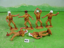 vintage timpo plastic soldiers legionnaires collectable toy spares n49
