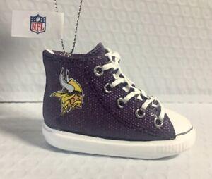 Minnesota Vikings Sneaker Ornament Christmas Tree Holiday - FREE SHIPPING