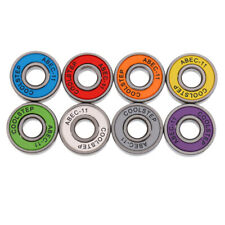 8pcs Skateboard Bearings Smooth Longboard Bearings Scooter Bearings Abec-11