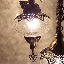 Beau Turkish Marocain Ottomane Sol Table Lampe Verre de Rechange Pièce