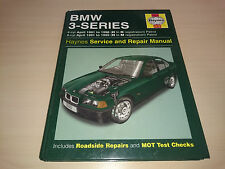 BMW 3 SERIES 1991 to 1996 - HAYNES OWNERS WORKSHOP MANUAL