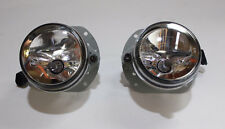 Fog Light Lamps for W211 07-09 E63 AMG Mercedes Benz Clear Lens w/Bulb&Wires