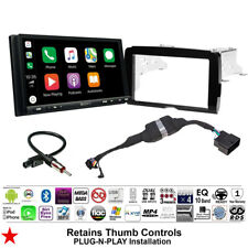 FOR 2014-2019 HARLEY DAVIDSON 2 DIN TOUCH SCREEN RADIO KIT WITH SONY XAV-AX7000