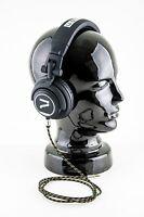 7even Aux 3,5mm Mini-Klinken und Kopfhörer Textil Kabel, Reggae/Rasta