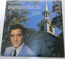 ELVIS PRESLEY, How Great Thou Art  LP