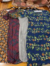 LulaRoe Julia Dress Lot Of 4 Large L Package Deal New NWT