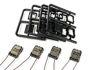 Four 15x11mm ESU 'Sugarcube' DCC Sound Speaker Kits (8 ohm)