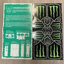 Monster Energy Sticker sheet Athlete Only Exclusive 2013 Energy Drink (1 Sheet)