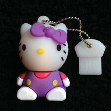 1 New Purple Novelty Hello Kitty 128MB, USB Flash Drive Memory Stick