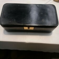 Quality Antique Vintage German Leather Jewelry Box Tray for Multiple items