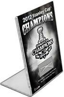 "Los Angeles Kings 2012 Stanley Cup Mini 4"" Desktop Stand w/Game Used Net Cord"