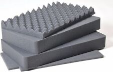 Pelican 1535 Air replacement foam set. Upgraded 4 piece set.