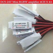 DC5-24V 5pin Led Mini RGBW Amplifier 4CH x 4A for 5050 2835 RGBW LED Strip Light