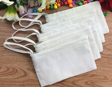 20x DIY Eco Blank Canvas handle Makeup Bag personalized cosmetic Pouch Pen Case