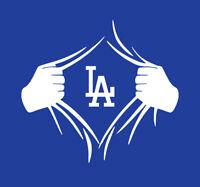 Los Angeles Dodgers Superman Rip shirt LA Ryu Bellinger Kershaw Seager baseball