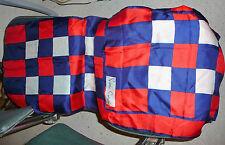 ancien grand foulard écharpe soie naturelle pierre cardin vintage made in france