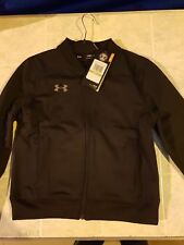 BOYS Under Armour ZIP Jacket Size YSM AGE 5-6 YEARS NEW