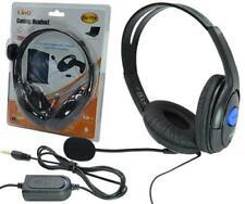 Cuffie Compatibili XL Gaming Per Playstation 4 Ps4 E Pc Con Microfono hsb