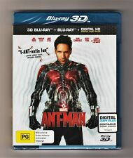 Ant-Man 3D Blu-ray + Blu-ray - Brand New & Sealed