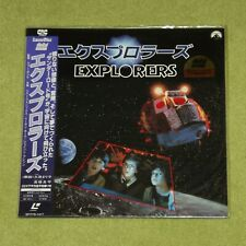 EXPLORERS [1985/Ethan Hawke/River Phoenix] - RARE 1988 JAPAN LASERDISC + OBI