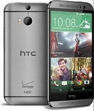 HTC One M8 - 32GB-Grey (Verizon)Unlocked Smartphone Cell Phone(Page Plus)Windows