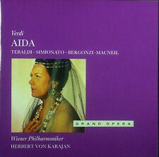 3 ercd VERDI-AIDA, Tebaldi, Simionato, Karajan