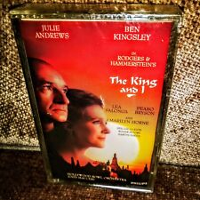 The King And I CASSETTE Julie Andrews & Ben Kingsley Hollywood Bowl Orchest.NEW!