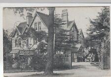 Dorset; Wimbledon Hall Boarding Establishment, Boscombe PPC, 1918 PMK
