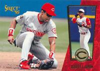 Barry Larkin 1995 Select Pinnacle #52 HOF Cincinnati Reds baseball card