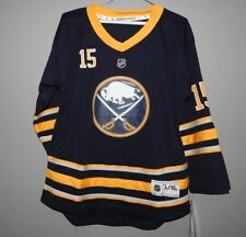 NHL Buffalo Sabres Home #15 Hockey Jersey New Youth Sizes MSRP $70