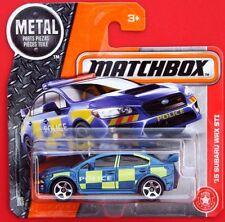 MATCHBOX  SUBARU WRX STI  POLICE