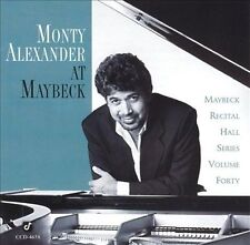 Alexander, Monty : Live at Maybeck 40 CD