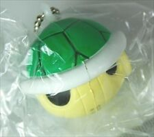 BANDAI Super Mario Bros Soft 3 Keychain Key Chain Figure Green Turtle Shell