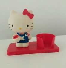 1976 Vintage Hello Kitty Toothbrush And Mouthwash Cup Holder